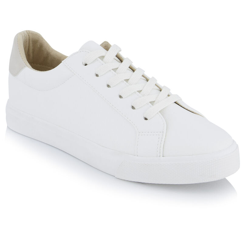 Old Khaki Women's Anna Sneaker -  white