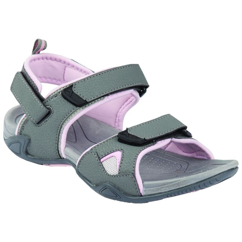 K-Way Women's Carsey Sandal -  grey-lightpink