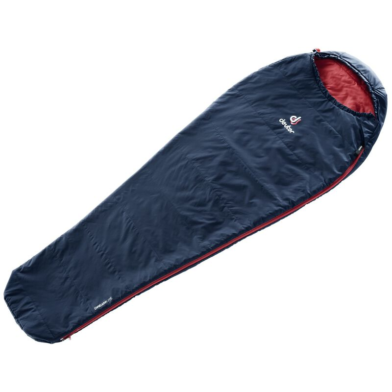Deuter Dreamlite 500L Sleeping Bag -  navy-berry