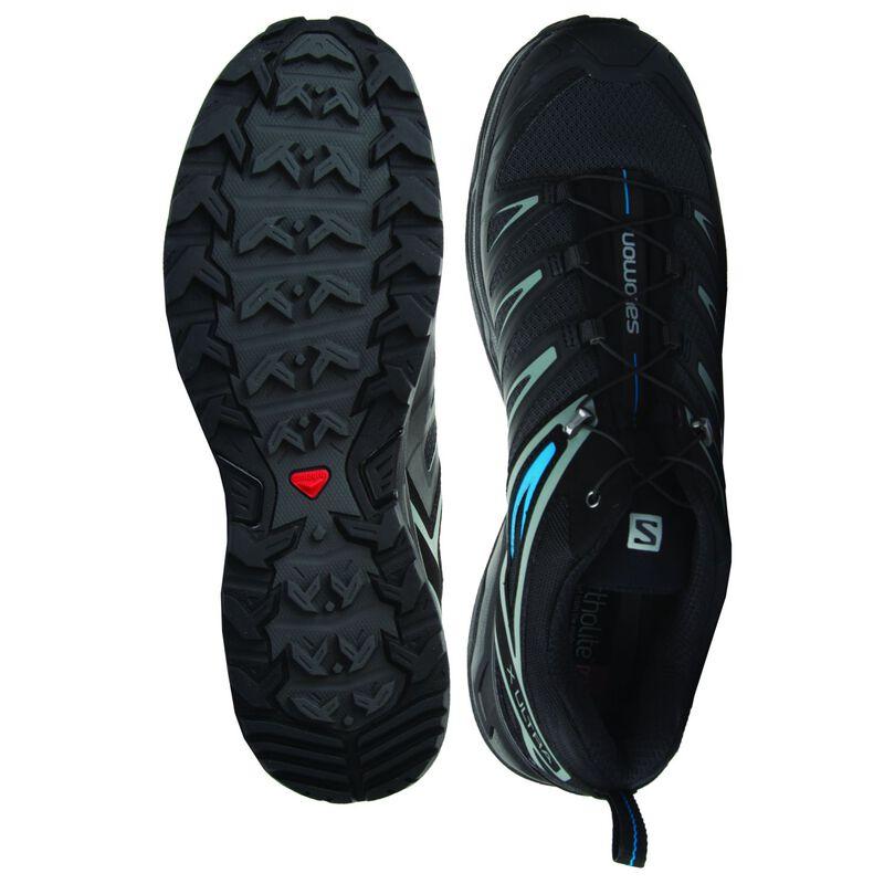 Salomon Men's X Ultra 3 Shoe -  black-blue