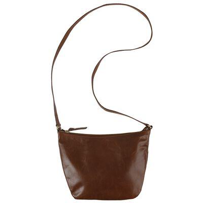 Mina Leather Cross Body Bag