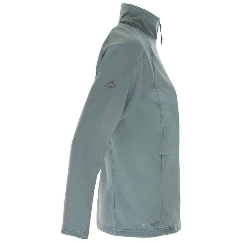 K-Way Women's Mira'19 Softshell Jacket -  teal