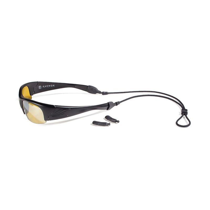 Croakies Terra System  XL & XXL Glasses Cord Combo -  black