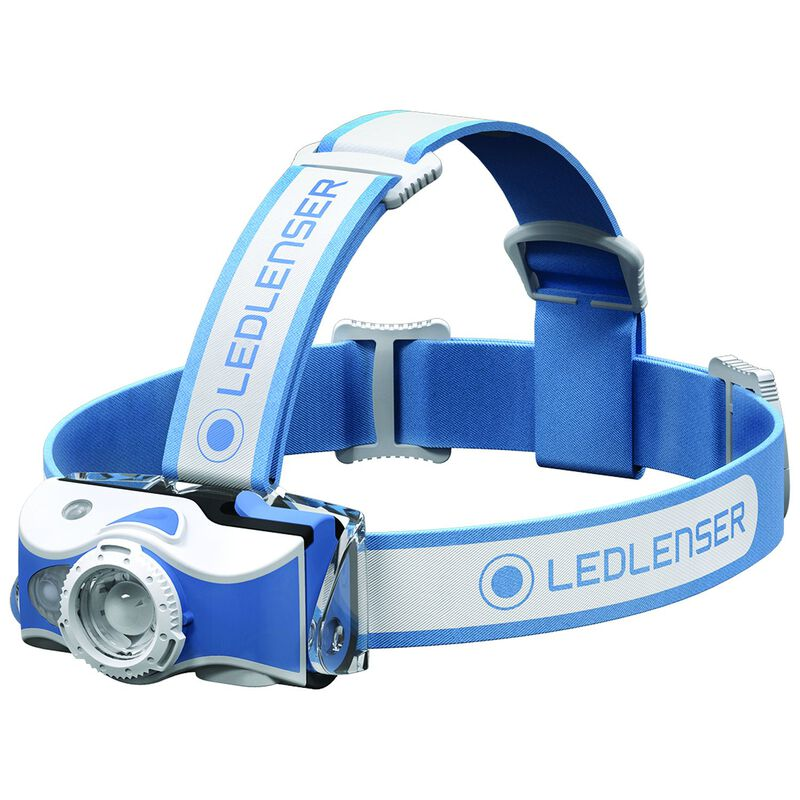 Ledlenser MH7 Rechargeable Headlamp  -  blue