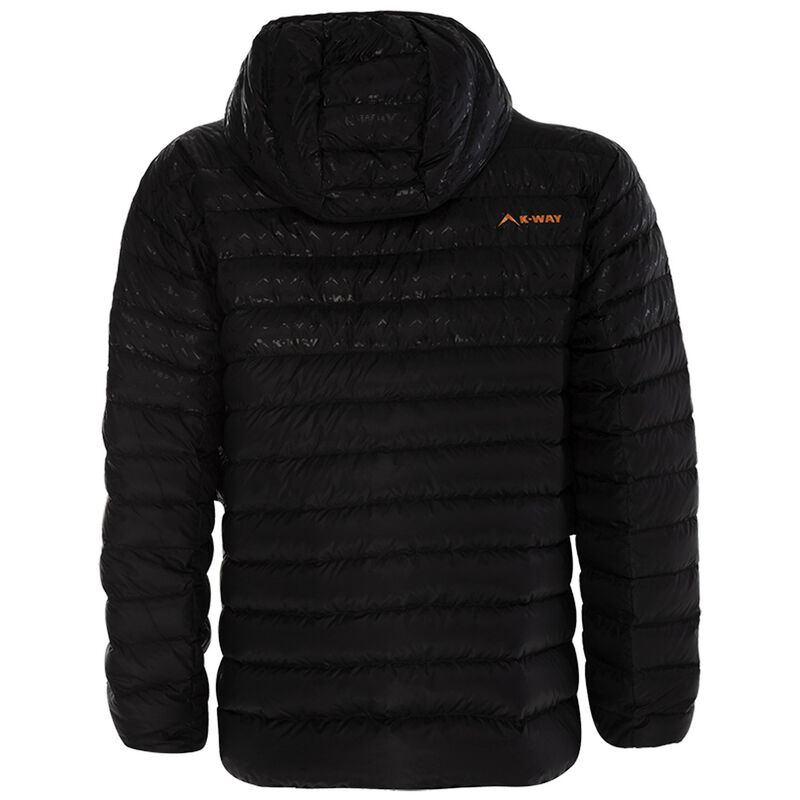 K-Way Men's Railey Down Jacket -  black-black