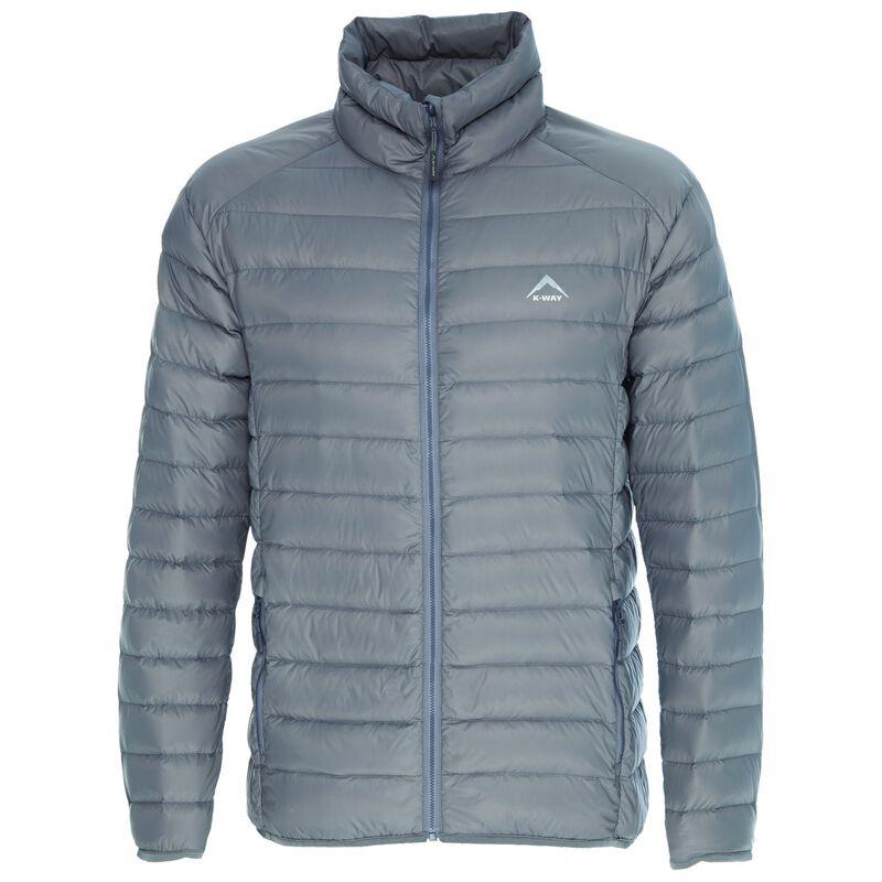 K-Way Men's Drake '18 Down Jacket  -  grey-grey
