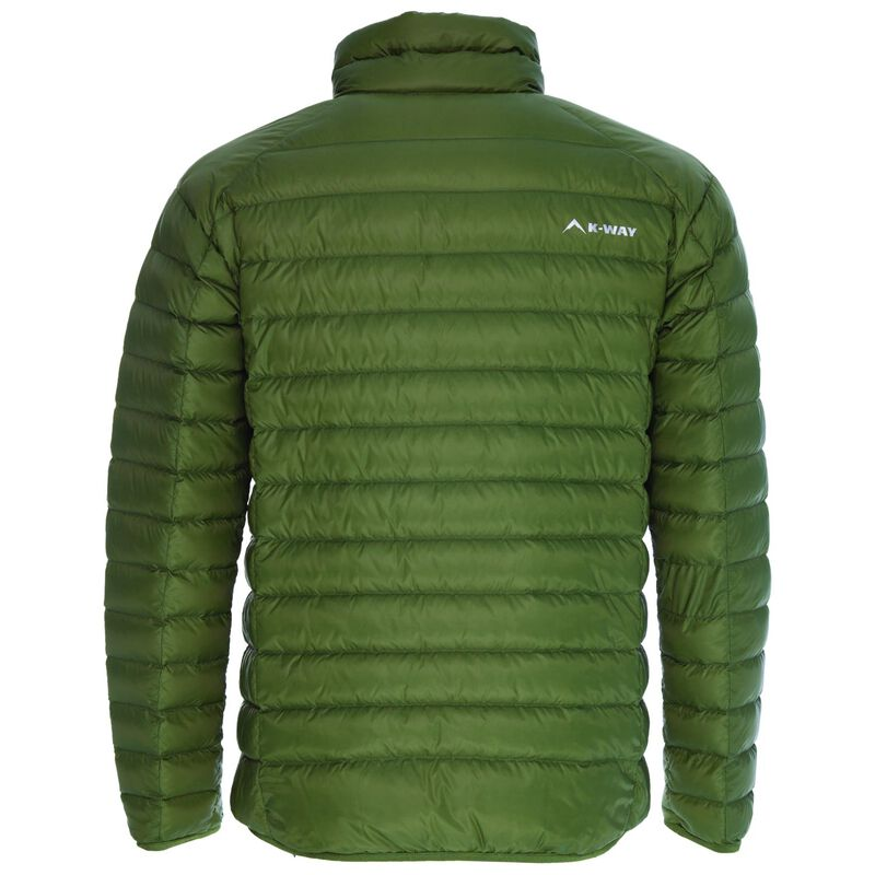 K-Way Men's Drake '18 Down Jacket  -  olive-olive