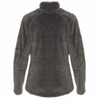 K-Way Women's Acacia Sherpa Fleece Jacket -  grey-silvergrey