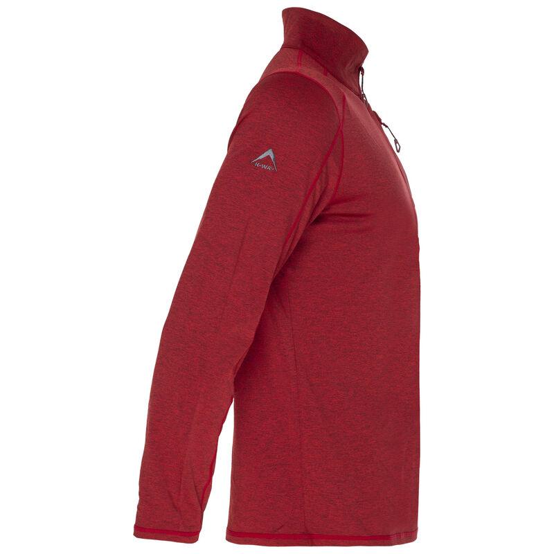 K-Way Men's Clash '19 1/4 Zip Fleece -  red
