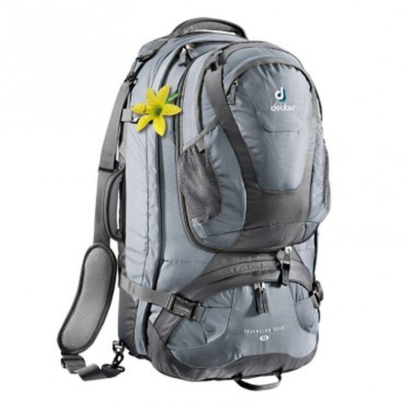 Deuter Traveller 60 + 10 SL Backpack -  black-turquoise