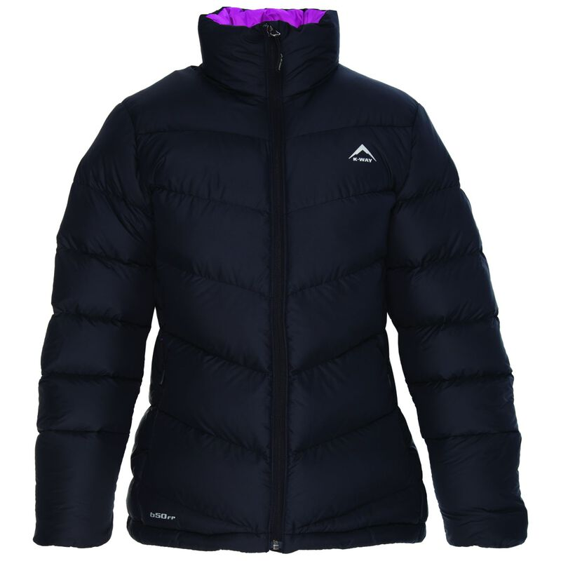 K-Way Women's Elsa '18 Down Jacket -  black-berry
