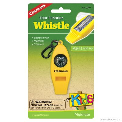 Coghlans Four Function Whistle for Kids