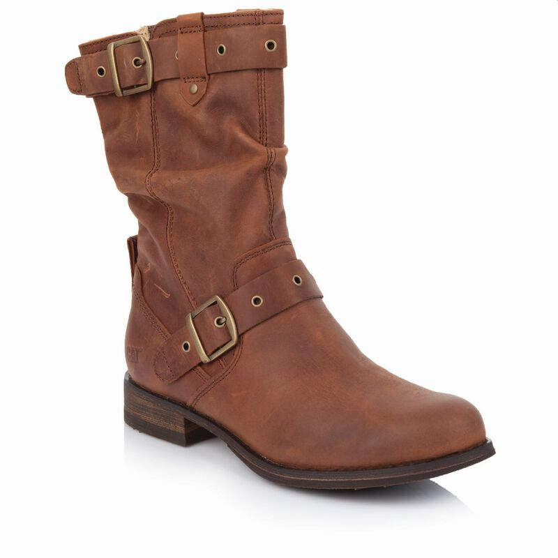 Caterpillar Women's Midi Boot  -  brown