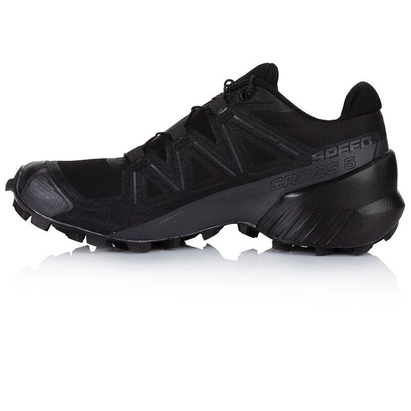 Salomon Men's Speedcross 5 Shoe -  black-black