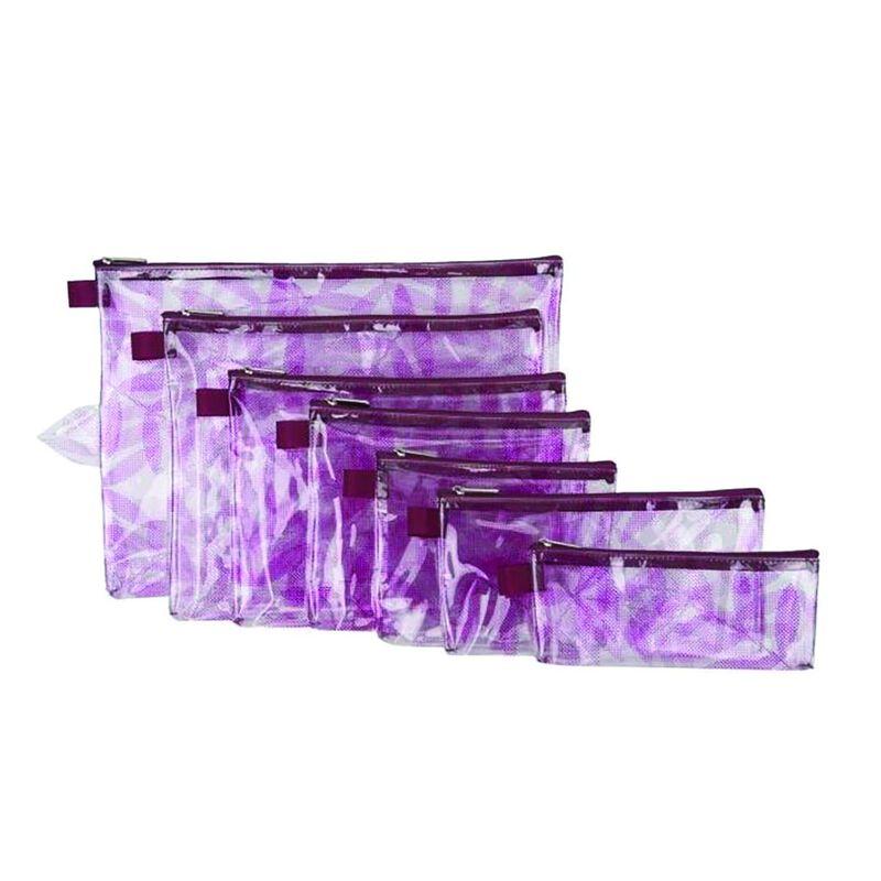 Travelon Set of 7 Packing Envelopes -  pink