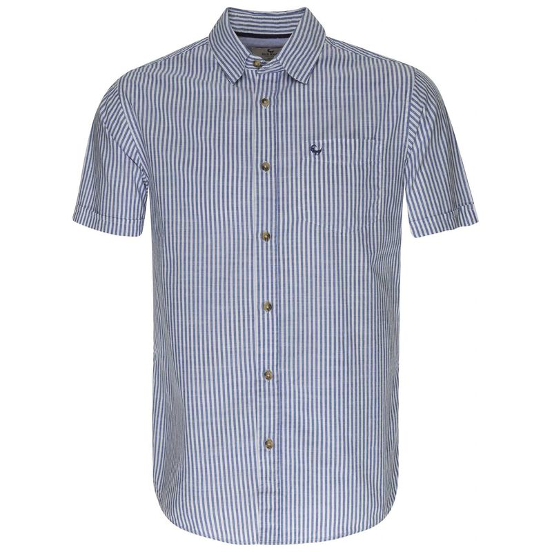 Old Khaki Men's Luigi Shirt -  blue