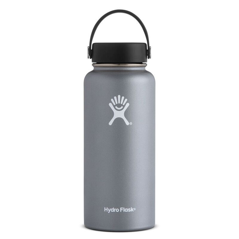 Hydroflask 946ml Wide Mouth Flask -  graphite