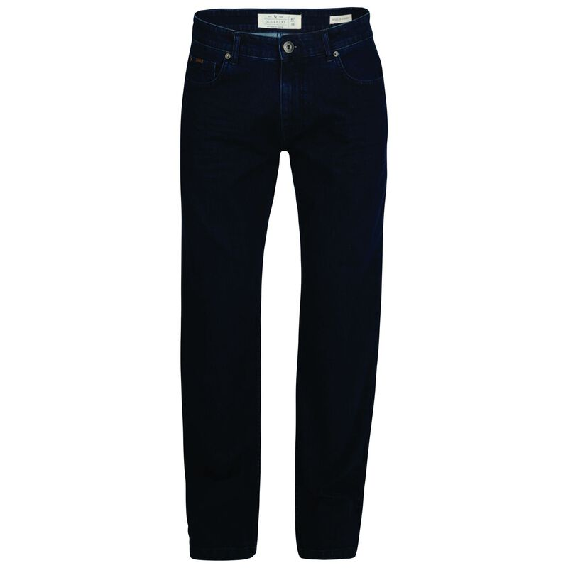 Jordy Men's Regular Straight Denim  -  navy