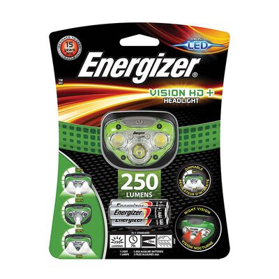 Energizer Vision HD+ Headlamp 250 +3AAA