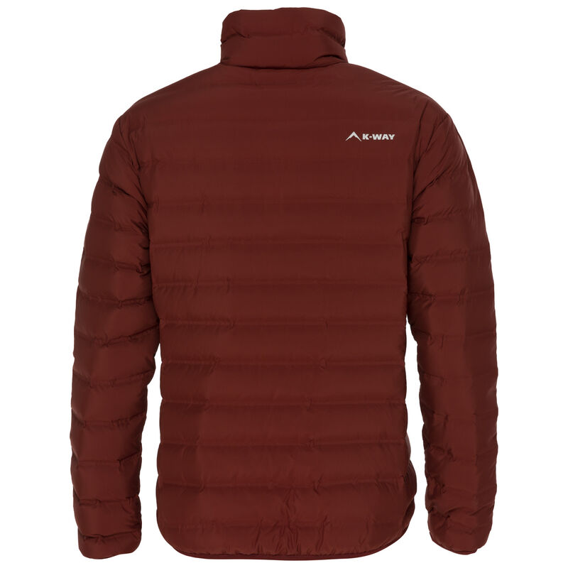 K-Way Men's Rio Re:Down Jacket -  rust
