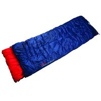 K-Way Traverse 2 Sleeping Bag -  blue-red
