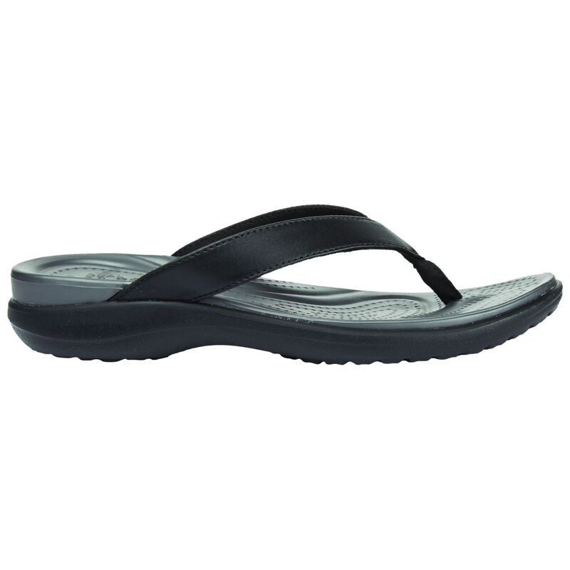 Crocs Women's Capri V Sandal -  black-graphite