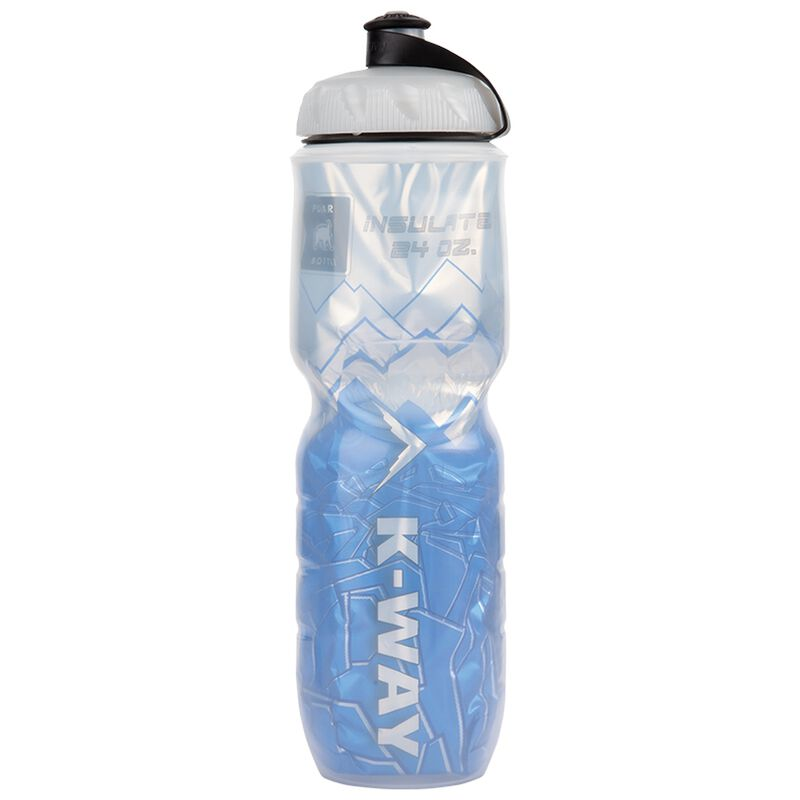 K-Way 24oz Insulated Waterbottle -  blue