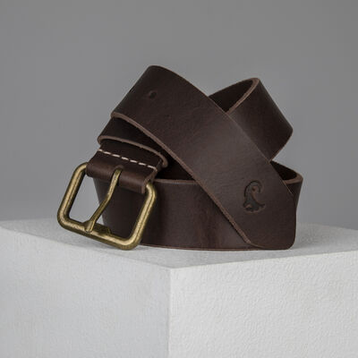 Old Khaki Men's Alvin Bottle Opener Buckle Leather Belt