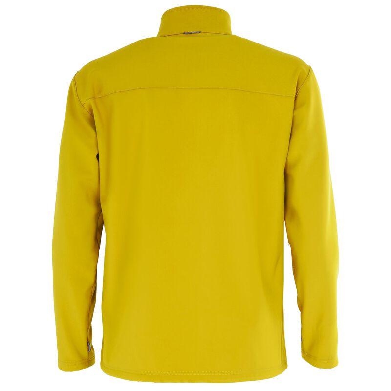 K-Way Men's Felixx Softshell Jacket -  mustard