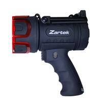 Zartek ZA461 Rechargeable Spotlight -  black