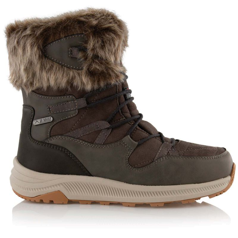 K-Way Women's Phoenix Boot  -  taupe-oatmeal