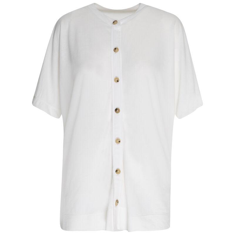 Rare Earth Ashton Knit Top -  white
