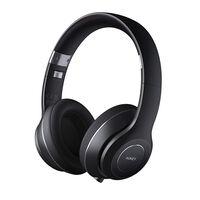 Aukey EP-B52 Foldable On-Ear Wireless Headphones -  black