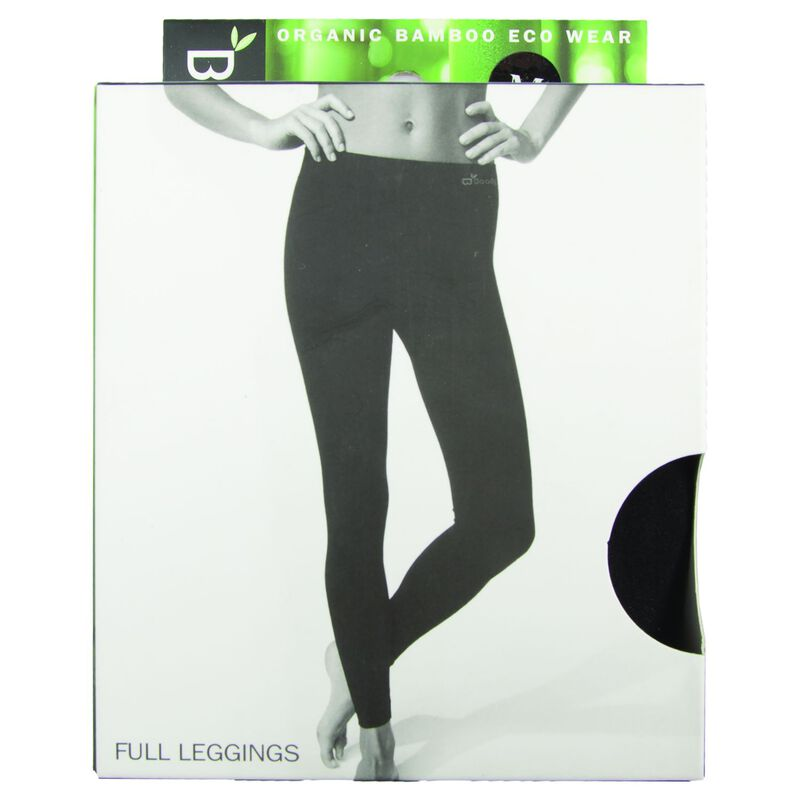 Boody Women's Full Leggings -  black