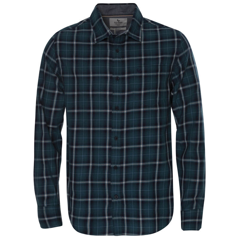 Old Khaki Men's Jason Regular Fit Shirt  -  teal