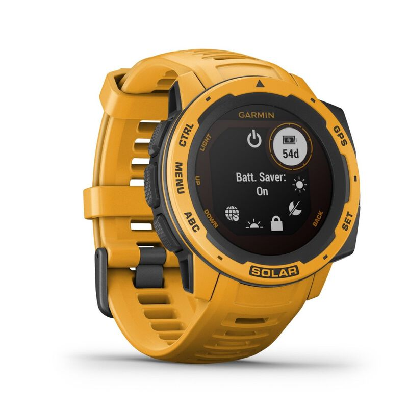 Garmin Instinct Solar Fitness Watch -  yellow