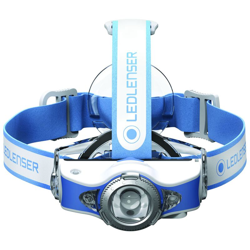 Ledlenser MH11 Bluetooth Rechargeable Headlamp -  blue