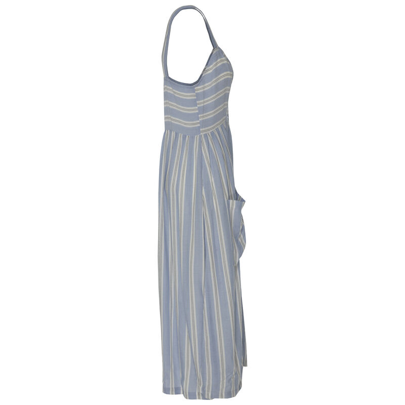 Teagan Women's Dress -  blue-white