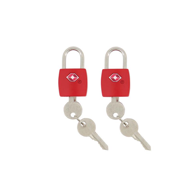 Cape Union TSA Padlock Twin Pack -  red
