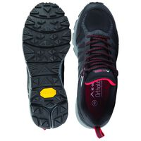 K-Way Men's Peak Lite Shoe -  black-red