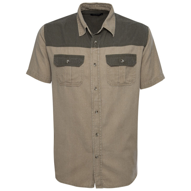 CU & Co Men's Dominic Shirt -  khaki-olive