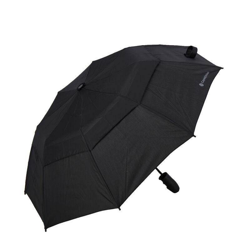 """Cape Union 21"""" Auto Open/Close Fold-Up Umbrella -  black"""