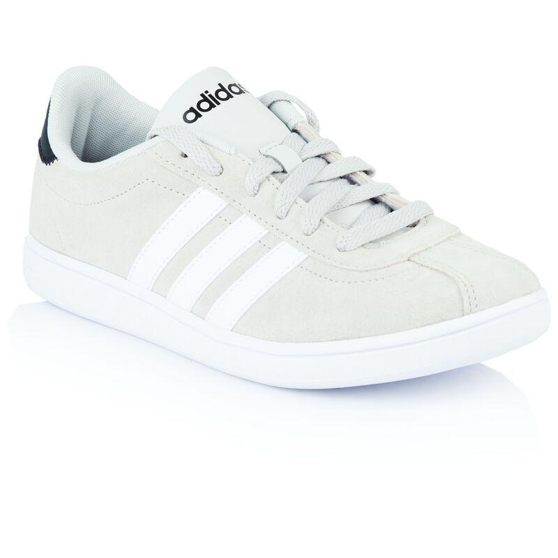 Adidas Ladies Courtset Sneaker -  grey-white