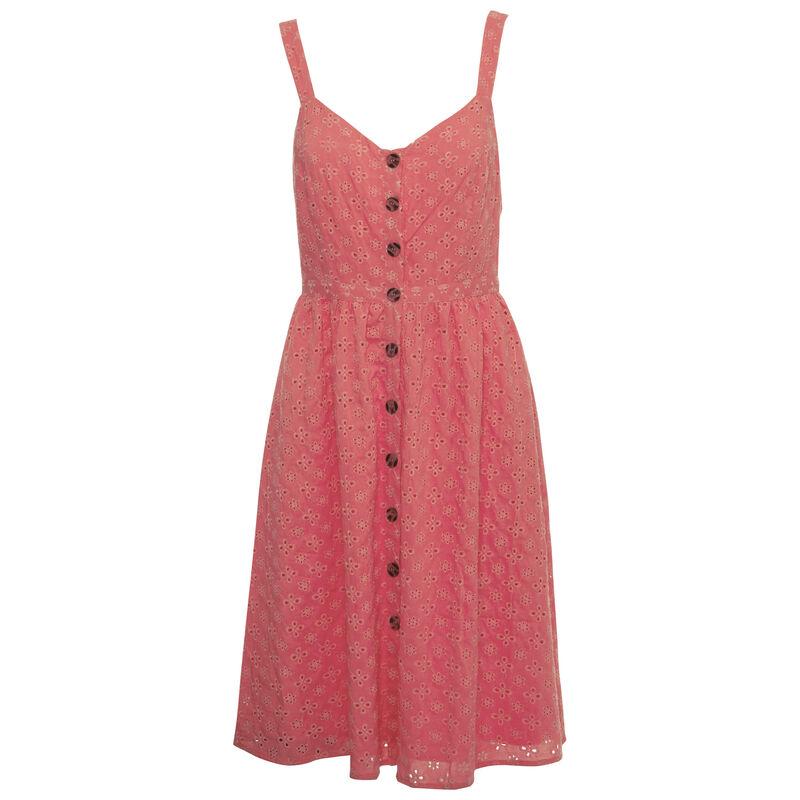 Eleanor Women's Lace Dress -  pink