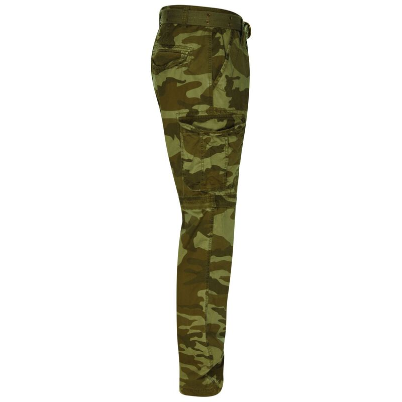 CU & Co Men's Domino Pants -  brown-camo