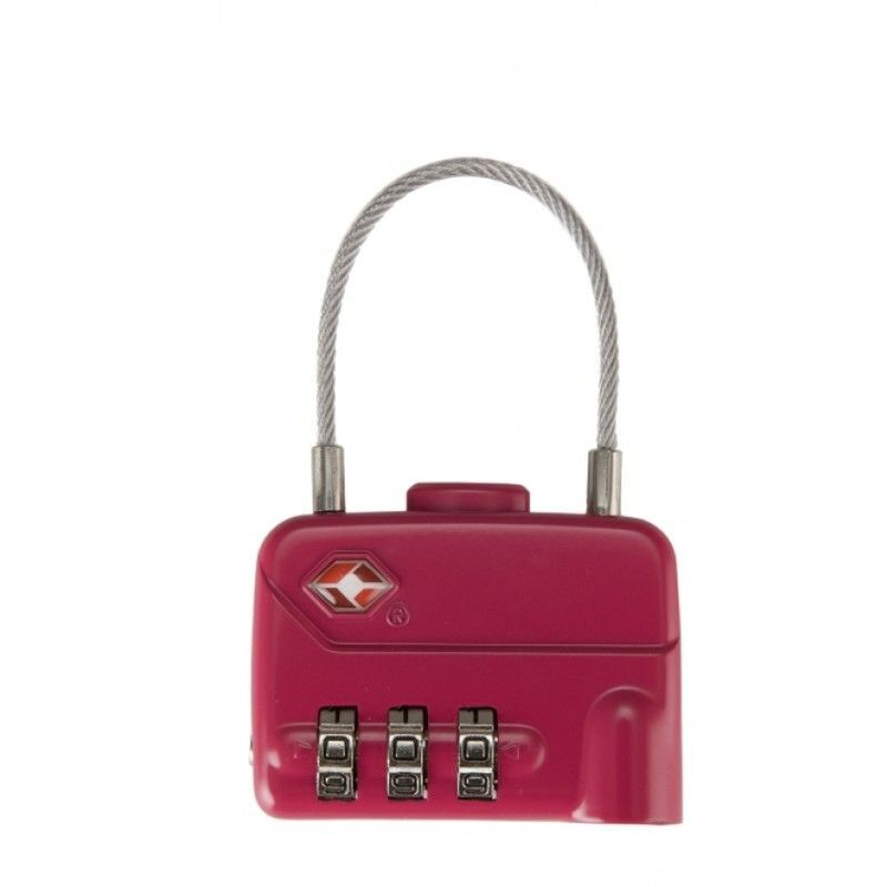 CU Cable Lock TSA -  red