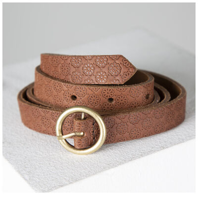 Alice All Over Embossed Belt