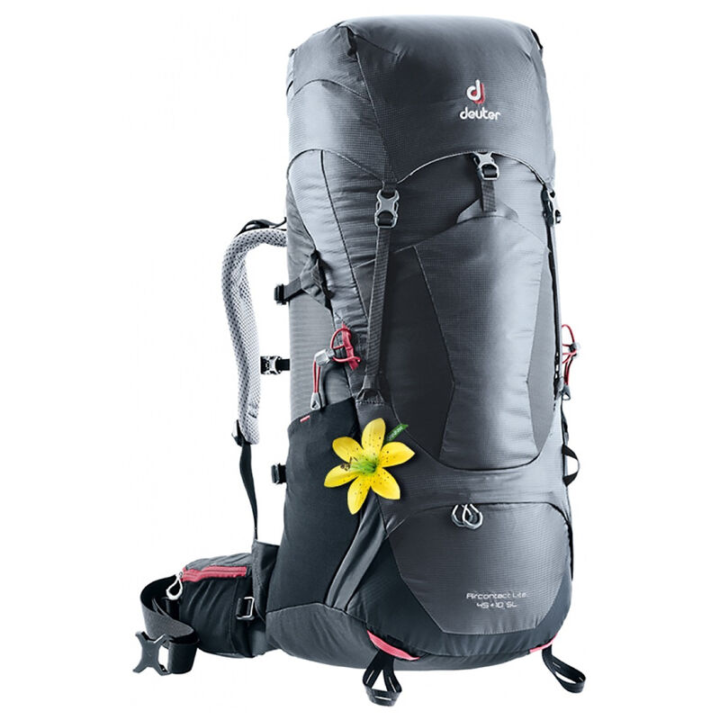 Deuter Aircontact Lite 45+10 SL Hiking Pack -  charcoal-black
