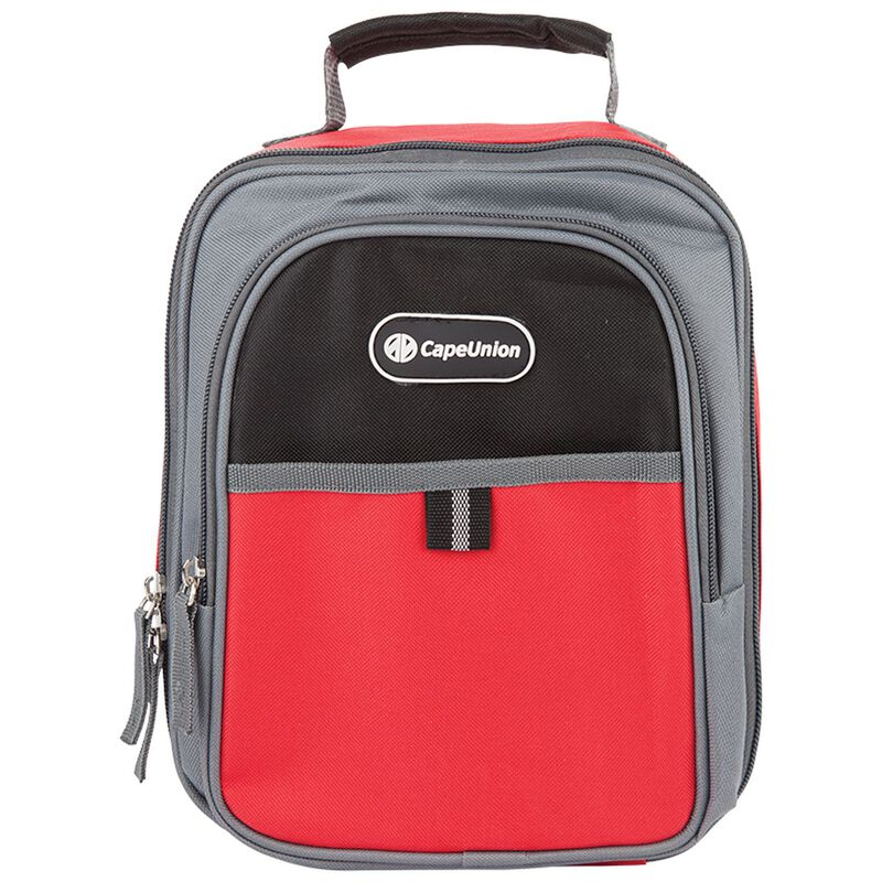 Cape Union Lunch Soft Cooler -  red-charcoal