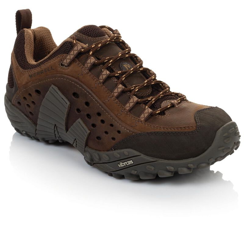 Merrell Men's Intercept Shoes -  brown-chocolate